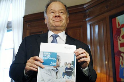 Le ministre des Finances Raymond Bachand.... (Photo: Mathieu Belanger, Reuters)
