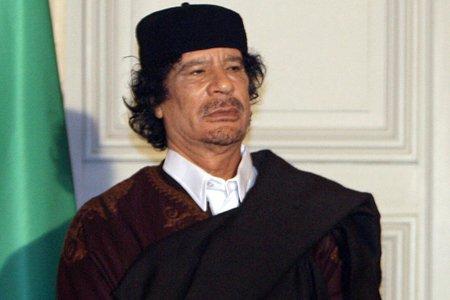 Mouammar Kadhafi.... (Photo: AP)