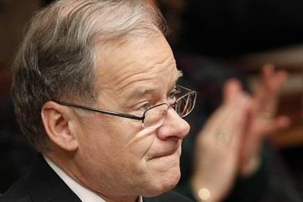 Le ministre des Finances Raymond Bachand.... (Photo: Mathieu Bélanger, Reuters)