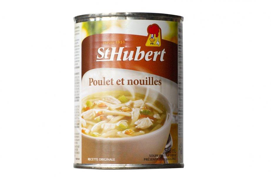 Les nouvelles soupes St-Hubert Classiques... (Photo: André Pichette, La Presse)