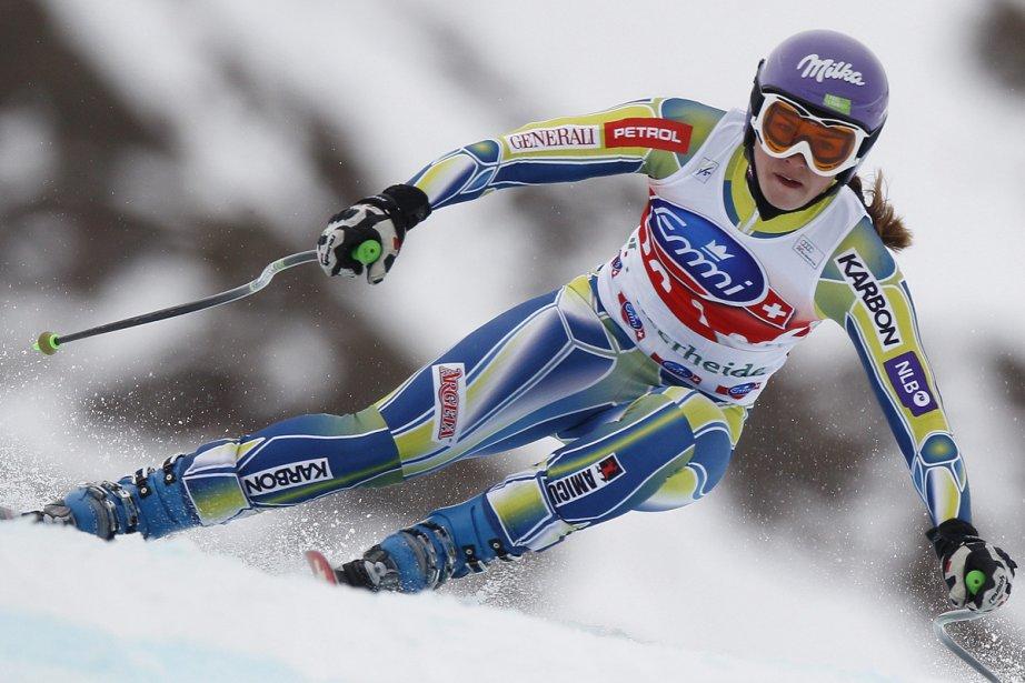 Tina Maze... (Photo: Reuters)