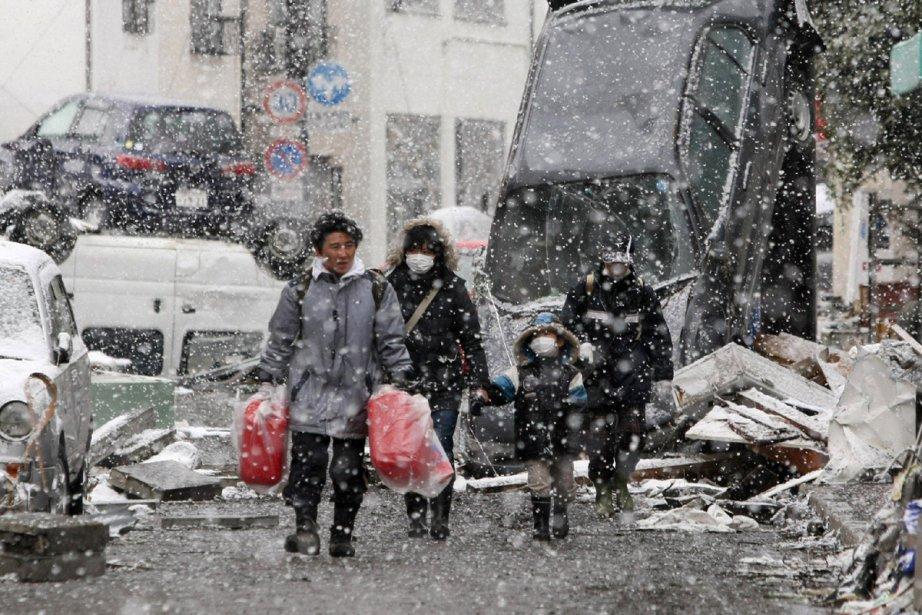 Le froid et la neige risque de provoquer... (Photo: AFP)