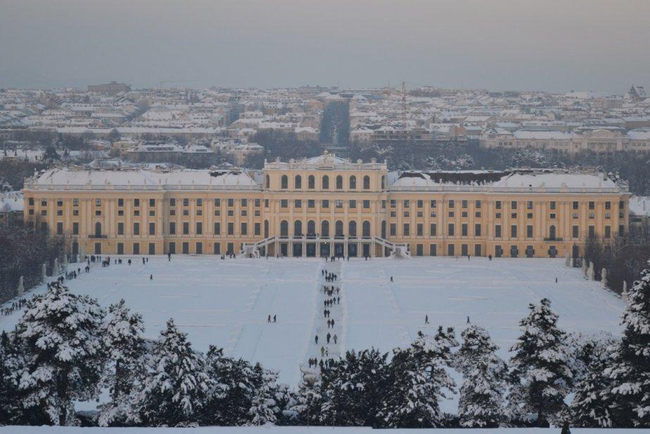 La ville de Vienne... (Photo: Violaine Ballivy, La Presse)