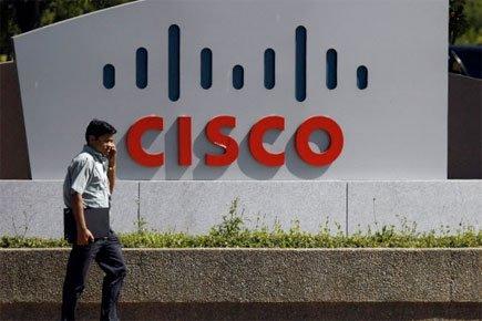 Cisco a publié  mercredi un bénéfice annuel... (Photo: AP)