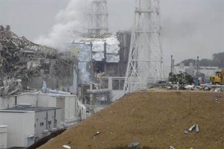 Le site Fukushima 1, qui totalise six réacteurs,... (Photo: AP)