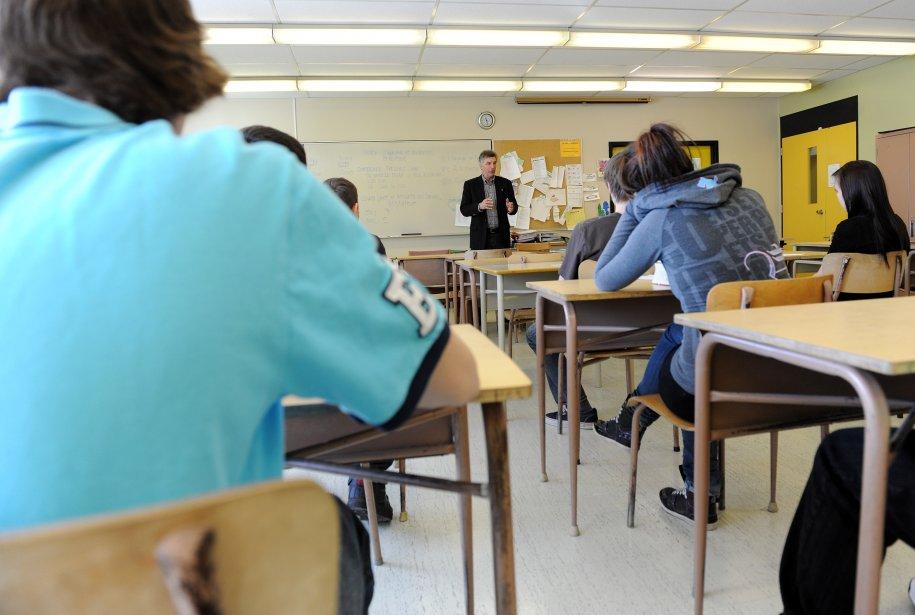 Les nouvelles mesures concernant l'enseignement de l'anglais, annoncées... (PHOTO: ERICK LABBE, ARCHIVES LE SOLEIL)