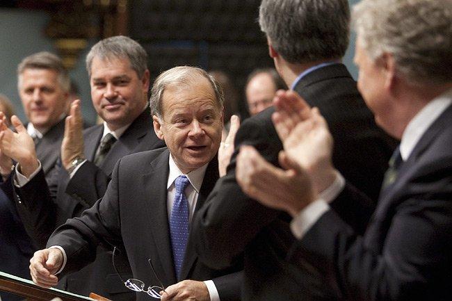 Le ministre des Finances, Raymond Bachand, a été... (Photo: PC)