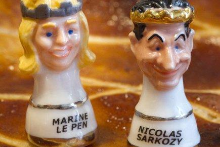 La traditonnelle galette des Rois avec deux fèves... (Photo: Robert Pratta, Reuters)