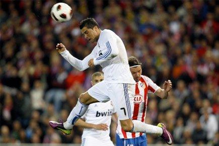 L'international portugais, meilleur buteur du Real Madrid en... (Photo: Reuters)