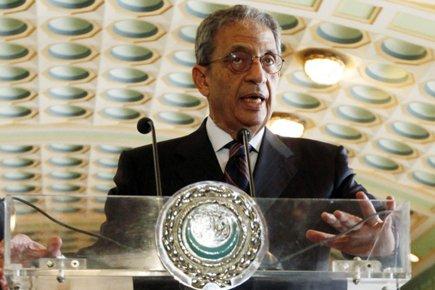 Le chef de la Ligue arabe, Amr Moussa.... (Photo: Reuters)