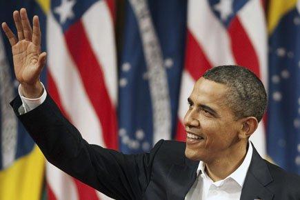 Barack Obama, hier à Rio de Janeiro, lors... (Photo: AFP)
