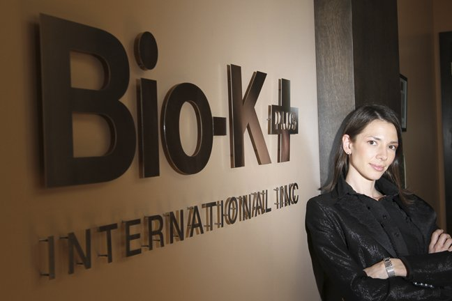 Isabèle Chevalier, vice-présidente affaires corporatives de Bio-K Plus... (Photo Stéphane Champagne, collaboration spéciale)