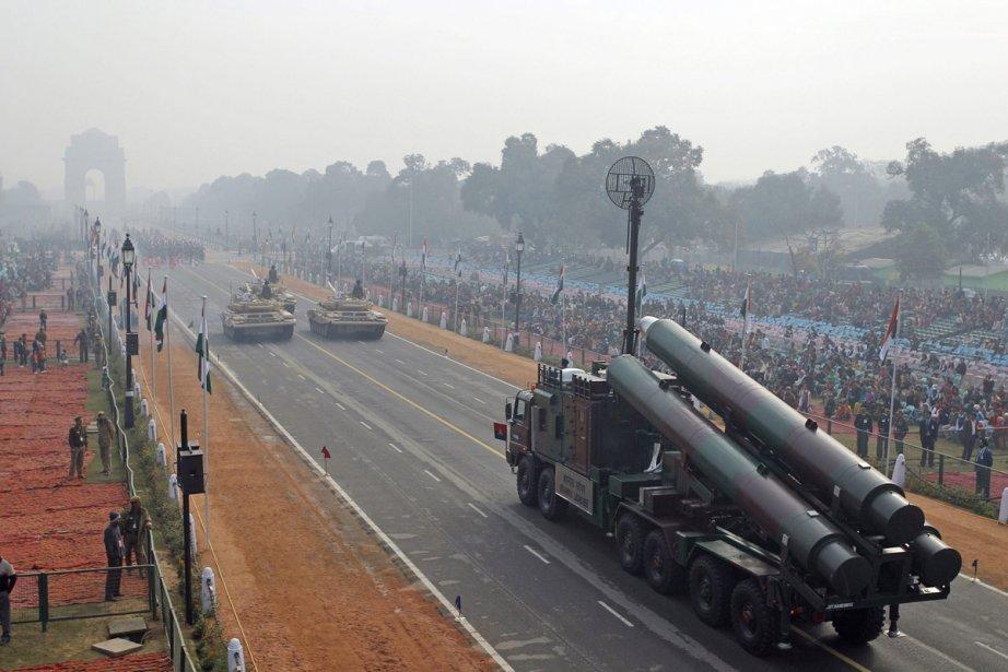 L'armée indienne a exposé sa puissance le 23... (Photo: archives AFP)