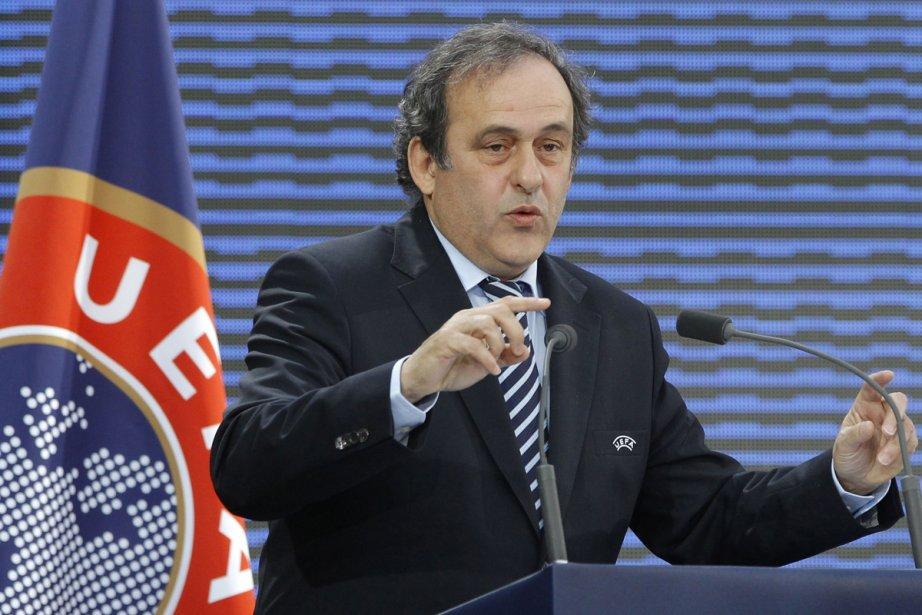 Le président de l'UEFA, Michel Platini... (Photo: AFP)