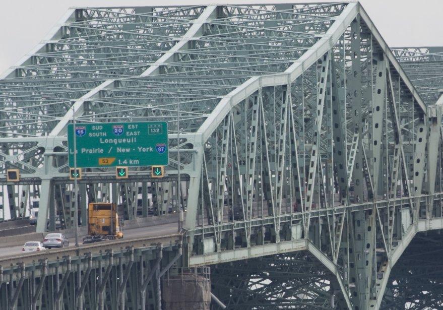 Le pont Champlain, à Montréal.... (PHOTO: IVANOH DEMERS, ARCHIVES LA PRESSE)
