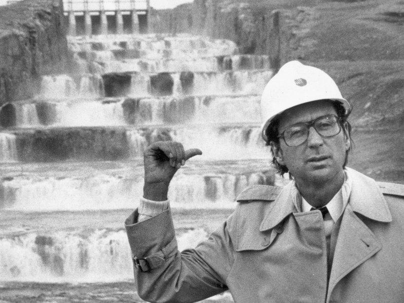 Robert Bourassa fut un des grands architectes d'un... (PHOTO JEAN GOUPIL, ARCHIVES LA PRESSE)