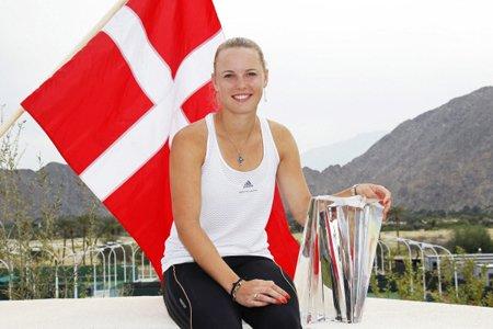 Caroline Wozniacki a déjà gagné deux titres cette... (Photo: Reuters)