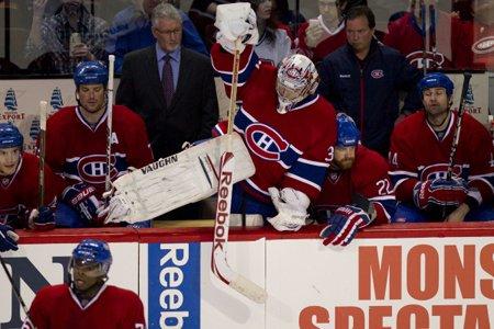 Les joueurs du Canadien avaient la mine basse... (Photo: André Pichette, La Presse)