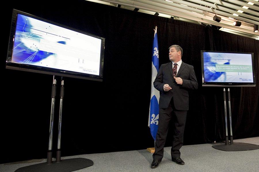 Le ministre de la Santé, Yves Bolduc, a... (Photo: Marco Campanozzi, La Presse)