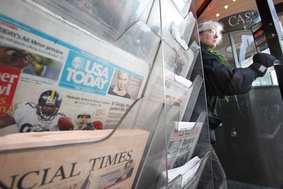 Le USA Today, journal fondé il y a près de 30 ans, revoit sa formule  pour...