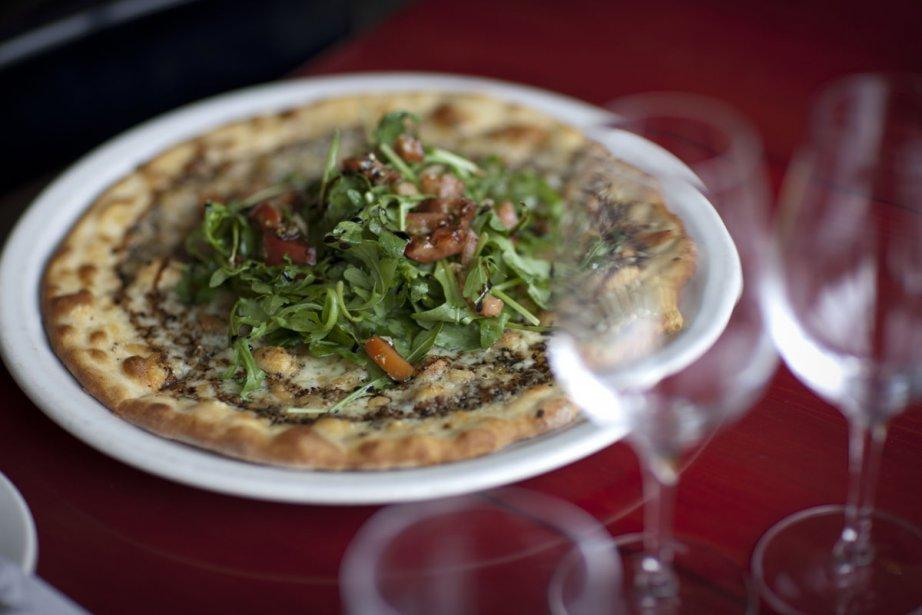 Pizza Tifone... (Photo: André Pichette, La Presse)