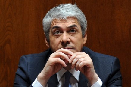 Le premier ministre du Portugal José Socrates a... (Photo: AFP)