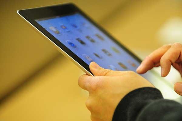 Le iPad 2 de Apple.... (Photo AFP)