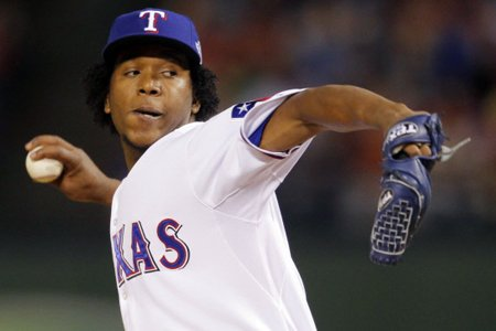 Neftali Feliz... (Photo: Reuters)