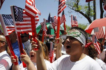 Avec 15 millions d'individus de plus qu'en 2000,... (Photo: Joshua Lott, Reuters)