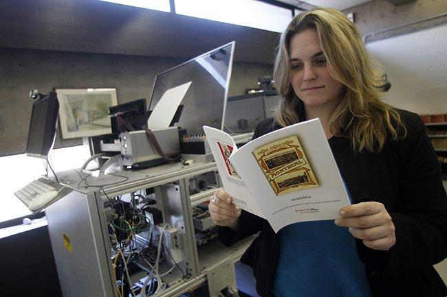 La machineEspresso book machine imprime des livres en... (Photo: Martin Chamberland, La Presse)