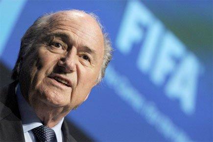 Le président de la FIFA, Sepp Blatter.... (Photo: AP)