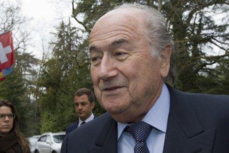 Le président de la FIFA, Joseph Blatter.... (Photo: AFP)