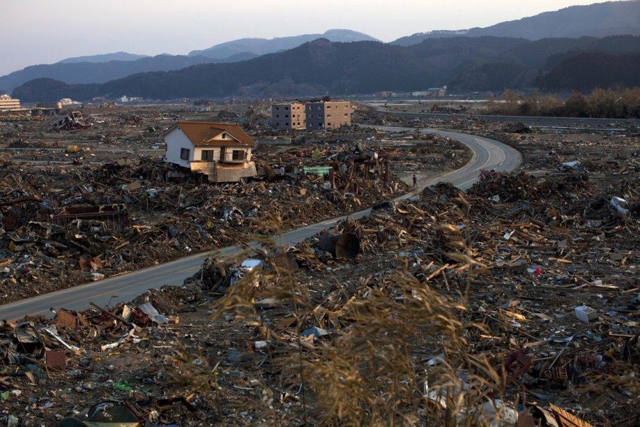 Le bilan de la situation à Rikuzentakata est... (Photo: AP)