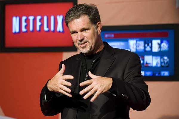 Reed Hastings... (Photo AP)
