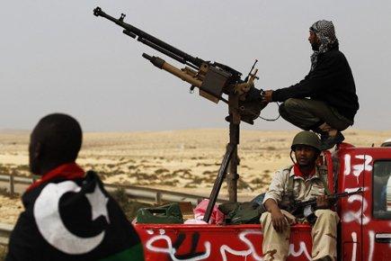 Une coalition internationale est intervenue en Libye le... (Photo: Reuters)