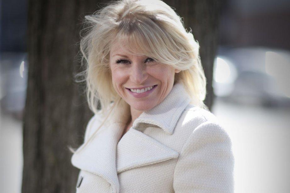 Cathy Gauthier sait qu'elle déstabilise les Français, ... (Photo: André Pichette, La Presse)