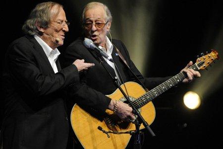 Jean Lapointe et Jérôme Lemay lors de la... (Photo: Bernard Brault, La Presse)