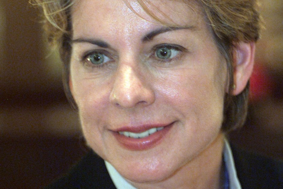 Patricia Cornwell... (Photo: archives AFP)