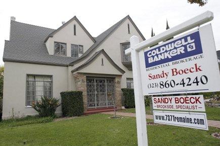 Une maison à vendre aux États-Unis.... (Photo Reuters)