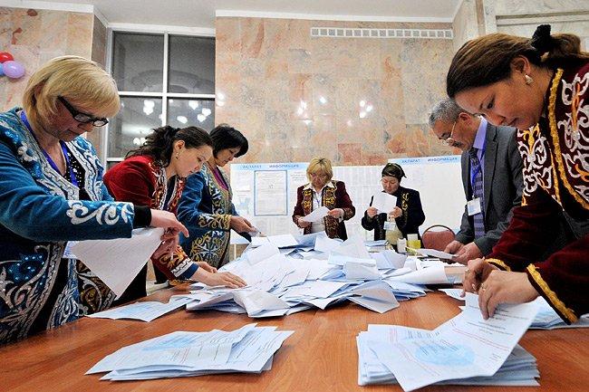 L'un des conseillers de M. Nazarbaïev s'est félicité... (Photo: AFP)