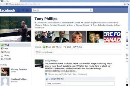 Une capture d'écran de la page Facebook de... (Photo: PC)