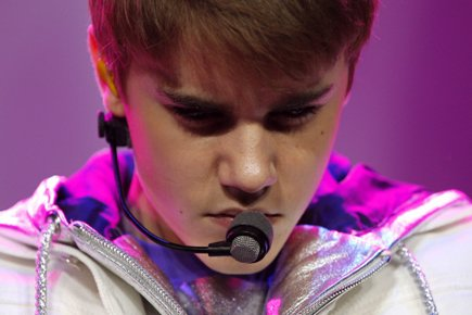 Justin Bieber lors d'un spectacle à Antwerp, en... (Photo: Reuters)