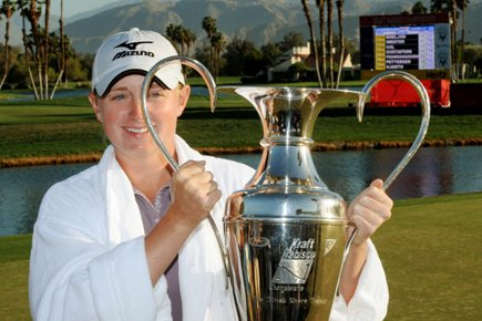 Stacy Lewis... (Photo: AFP)