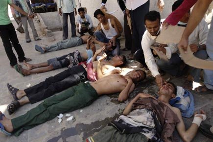 Au moins 95 personnes sont mortes depuis le... (Photo: Reuters)