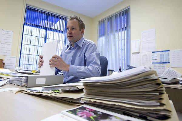 Directeur des études à l'école secondaire Duval, Karl... (Photo: Alain Roberge, La Presse)