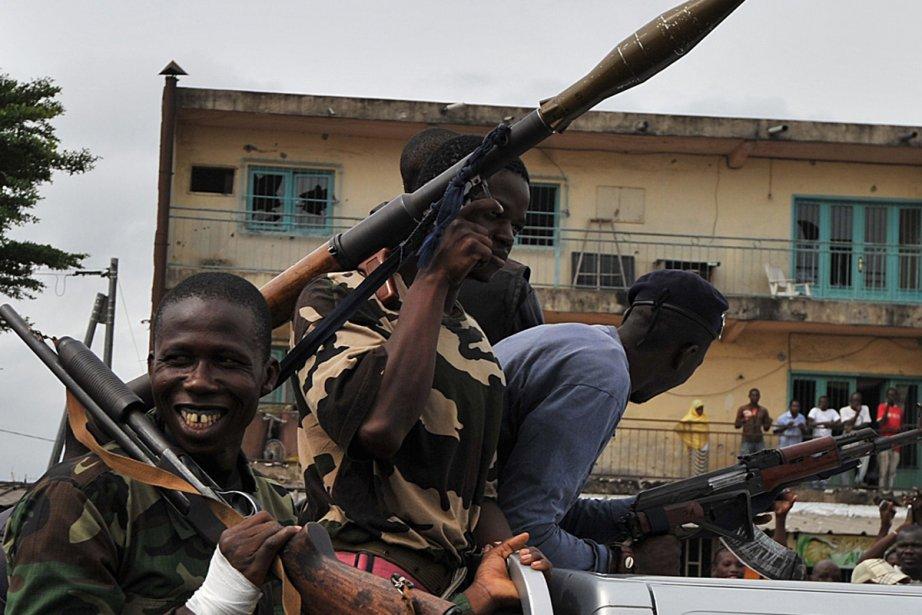 Les troupes d'Alassane Ouattara ont relancé leur offensive... (Photo: AFP)