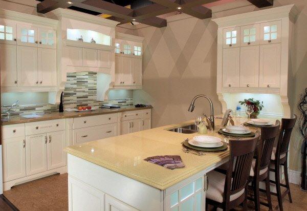 Dosseret cuisine quartz image sur le design maison for Decoration cuisine dosseret