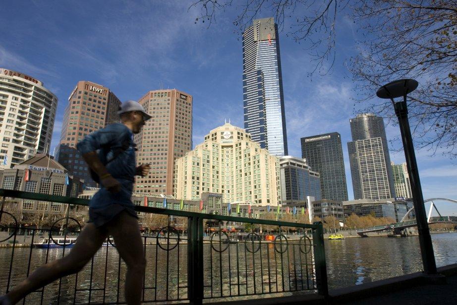 La ville de Melbourne, en Australie... (Photo: Alain Roberge, archives La Presse)