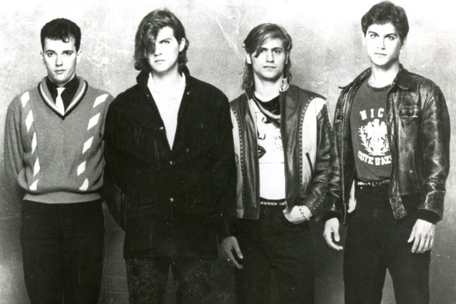 Le groupe Men Without Hats dans les années... (Photo: archives PC)