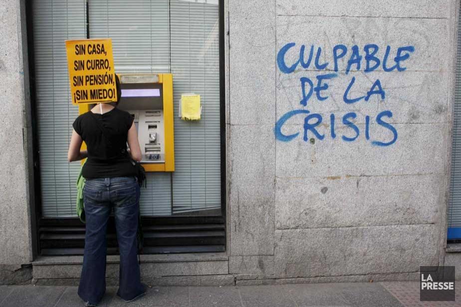 La crise frappe dur en Espagne.... (Photo Reuters)